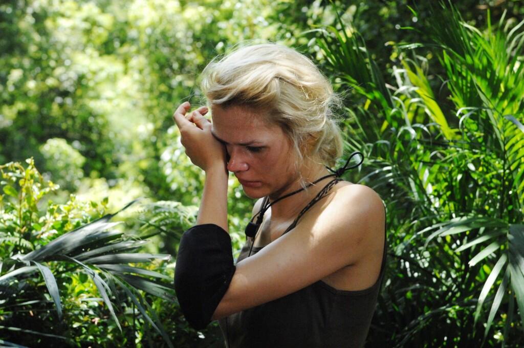 Sara Kulka (24) wurde von den Zuschauern für die Dschungelprüfung gewählt.