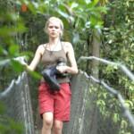 Dschungelcamp 2015 Dschungelprüfung 2 - Sara Kulka auf dem Weg zurück ins Camp