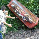 Dschungelcamp 2015 Dschungelprüfung 3 - Sonja und Daniel feuern Sara an