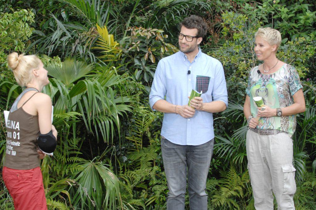"""Dschungelprüfung 4 """"Atemlos durch den Schacht"""": Angelina Heger (22) wurde von den Zuschauern zu ihrer ersten Dschungelprüfung gewählt."""