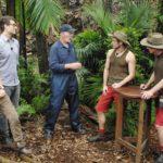Dschungelcamp 2015 Dschungelprüfung 5 - Jörn und Walter bei ihrer Prüfung