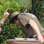 Dschungelcamp 2015 Dschungelprüfung 5 - Walter spuckt das Chili Con Carne wieder aus