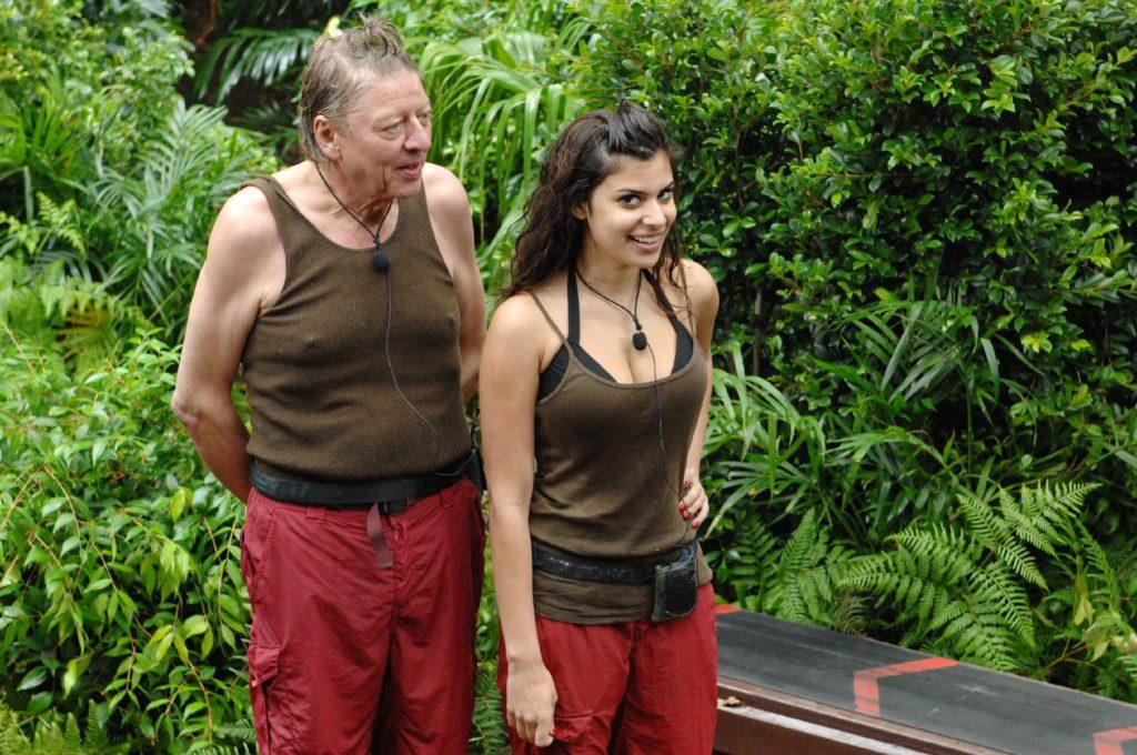 """Tag 6 - Dschungelprüfung 6 """"Am schlauchenden Band"""": Die Zuschauer haben Walter Freiwald (60) und Tanja Tischewitsch (24) zur Dschungelprüfung gewählt."""