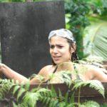 Dschungelcamp 2015 Dschungelprüfung 13 - Tanja fällt in die Schlotze