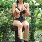 Dschungelcamp 2015 Dschungelprüfung 13 - Tanja muss die Fragen beantworten