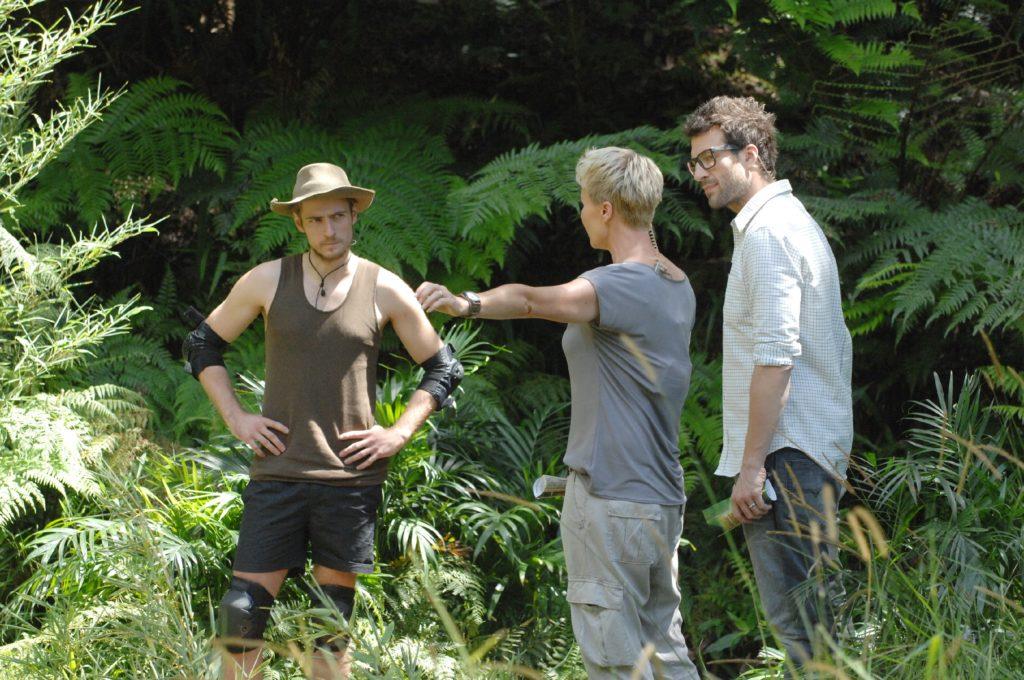 Die Camper haben Jörn Schlönvoigt (28) zur Dschungelprüfung geschickt.
