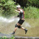 Dschungelcamp 2015 Dschungelprüfung 14 - Jörn wird mit Wasser beschossen