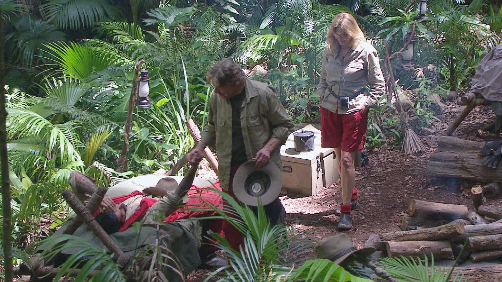 Dschungelcamp 2015 Tagebuch Tag 14 - Walter verabschiedet sich von Aurelio