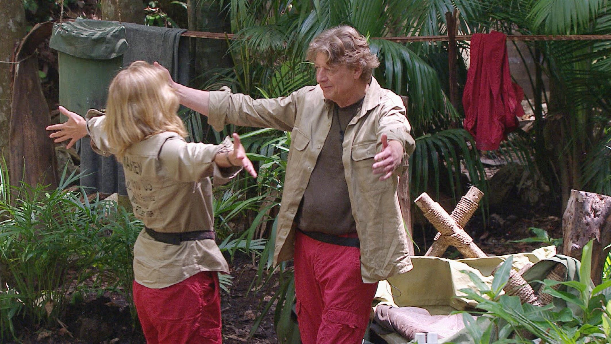 Dschungelcamp 2015 Tagebuch Tag 14 - Walter verabschiedet sich von Maren