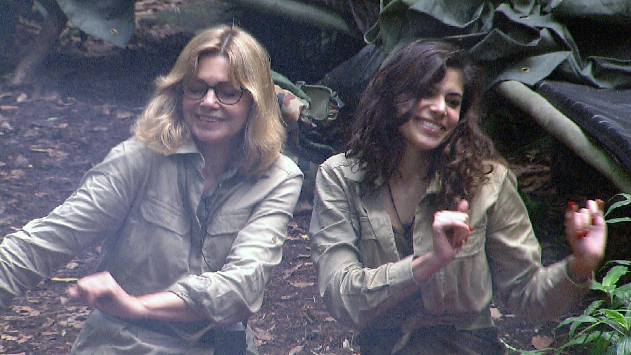 Dschungelcamp 2015 Tagebuch Tag 14 - Maren und Tanja