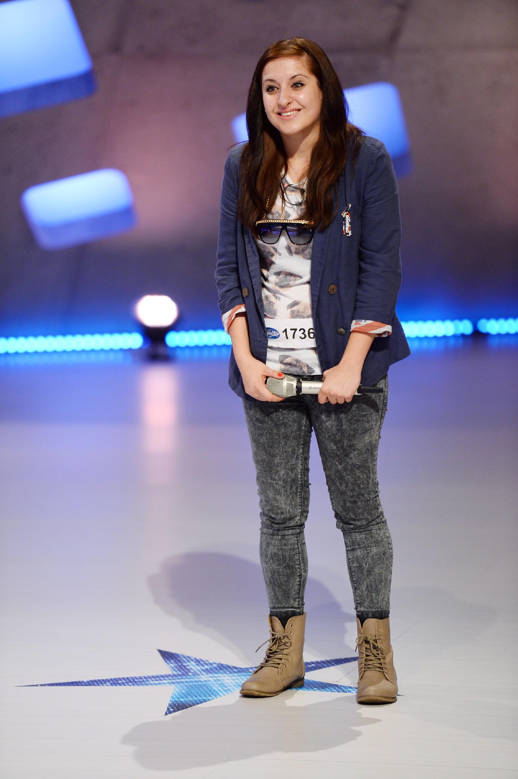 DSDS 2015 Casting 5 - Gabi Grübert aus Julbach