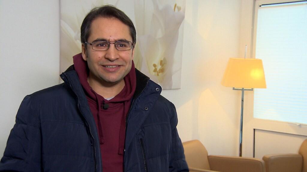 Mehmet Akbas nach der Verwandlung.