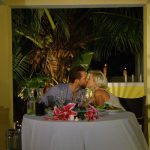 Der Bachelor 2015 Halbfinale - Liz und Oliver beim romantischen Dinner