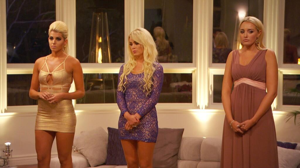 Sarah, Liz und Carolin - wer bekommt heute keine Rose von Oliver?