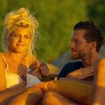 Der Bachelor 2015 Halbfinale - Sarah und Oliver genießen Sonnenuntergang