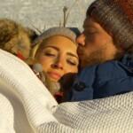 Der Bachelor 2015 Halbfinale - Carolin und Oliver kuscheln