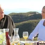 Der Bachelor 2015 Finale - Carolin mit Olivers Vater Jürgen
