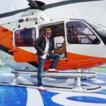 DSDS 2015 Recall 1 - Dieter Bohlen mit Helicopter