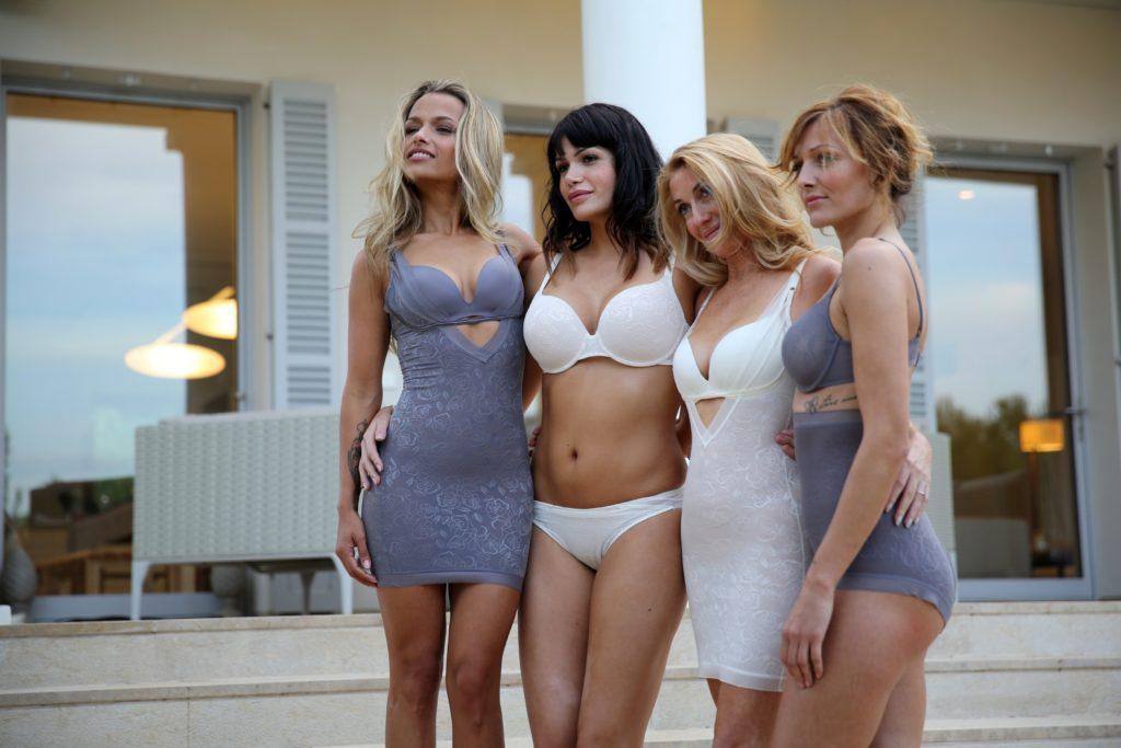 (v.l.) Ramona, Roaya, Susana, Erna