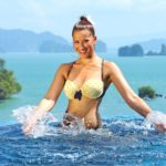 DSDS 2015 Sexy Fotoshooting - Erica Greenfield in Thailand