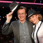 Let´s Dance 2015 Show 2 - Katja Burkard und Ehemann Hans Mahr