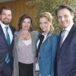 GZSZ - Daniel Fehlow, Anne Brendler, Valentina Pahde und Wolfgang Bahro