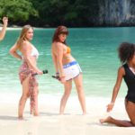 DSDS 2015 Recall - Laura Lopez, Juna Manaj, Anna Carina Alpert und Erica Greenfield