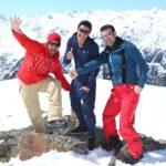 DSDS 2015 Ischgl - Severino Seeger, Robin Eichinger und Antonio Gerardi