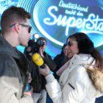 DSDS 2015 Ischgl - Tanja Tischewitsch als Backstage-Reporterin