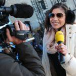 DSDS 2015 Ischgl - Backstage-Reporterin Tanja Tischewitsch