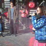 DSDS 2015 Ischgl - Viviana Grisafi beim Soundcheck
