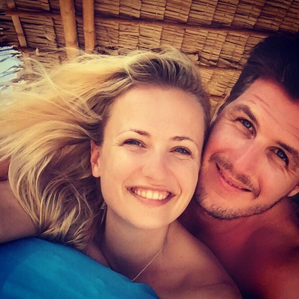 Ania Niedieck und ihr Verlobter Chris