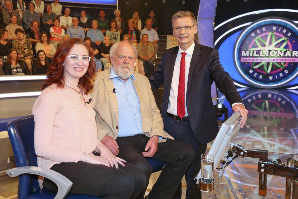 WWM - Lehrer-Schüler-Special - Reinhard Vogt und Anne Salzwedel