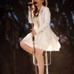 DSDS 2015 Eventshow 2 - Viviana Grisafi bei ihrem Auftritt