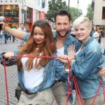 Sommer Dschungelcamp - Gabby, Michael und Melanie auf ihrer Mission