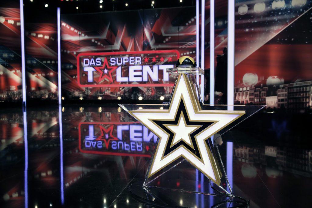 """Die """"Supertalent""""-Bühne beim Casting der zehnten Staffel."""