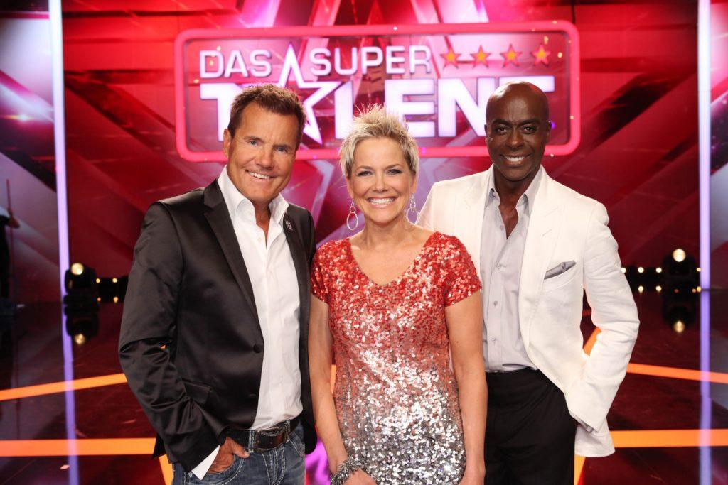 Die Supertalent-Jury: Dieter Bohlen, Inka Bause und Bruce Darnell (v.l.)