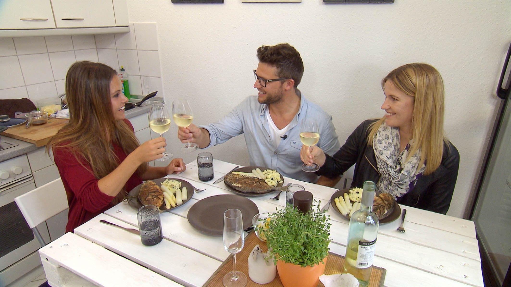 Die Bachelorette 2015 - Alisa, Alex und seine Schwester