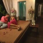 Die Bachelorette 2015 Halbfinale - Alex und Alisa schmusen