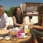 Die Bachelorette Finale 2015 - Alisa mit ihren Eltern Bettina und Peter
