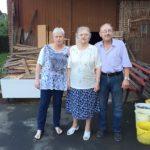 Schwiegertochter gesucht 2015 - Lothar mit Johanna und Mutter Helene