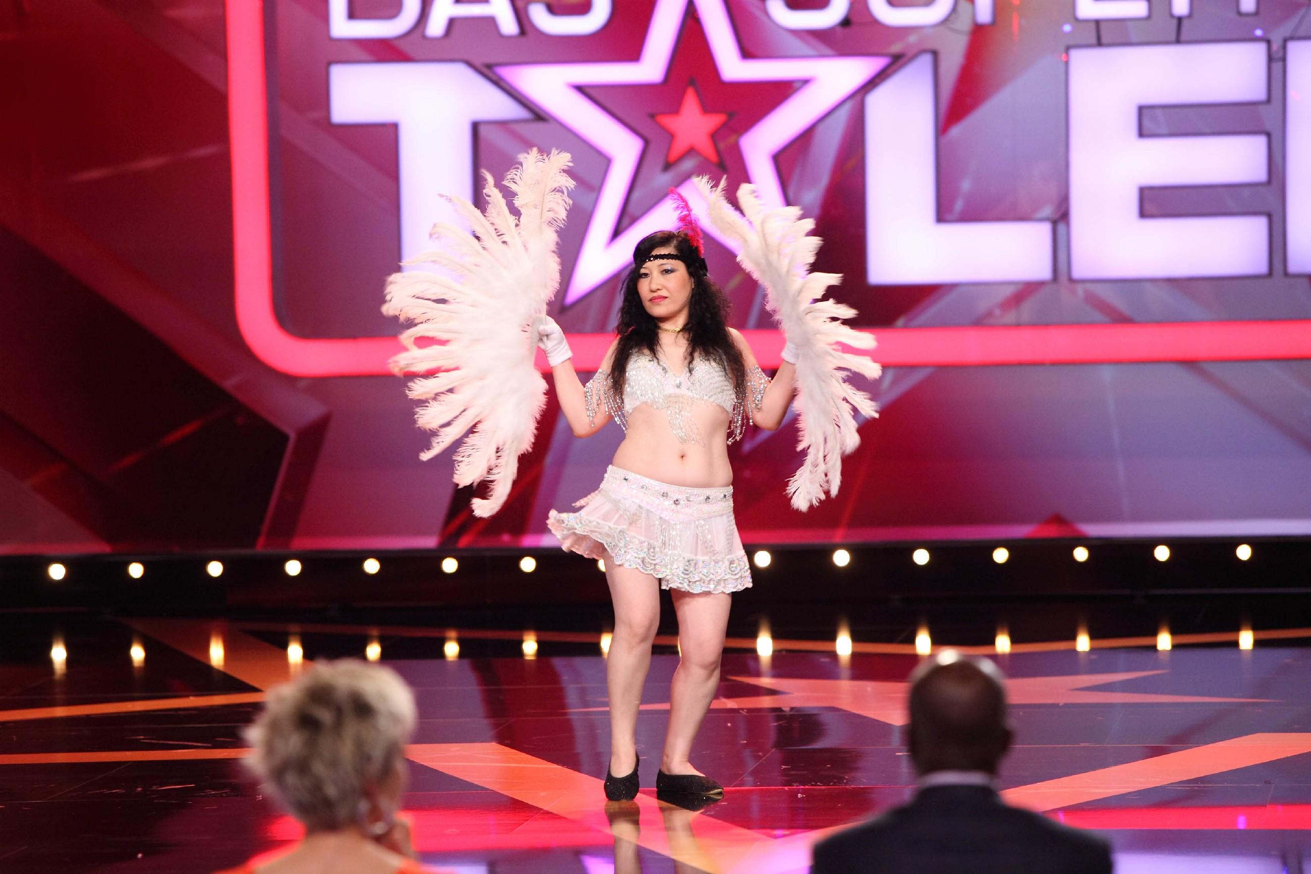 Das Supertalent 2015 Show 5 - Xuan Lande aus Goslar