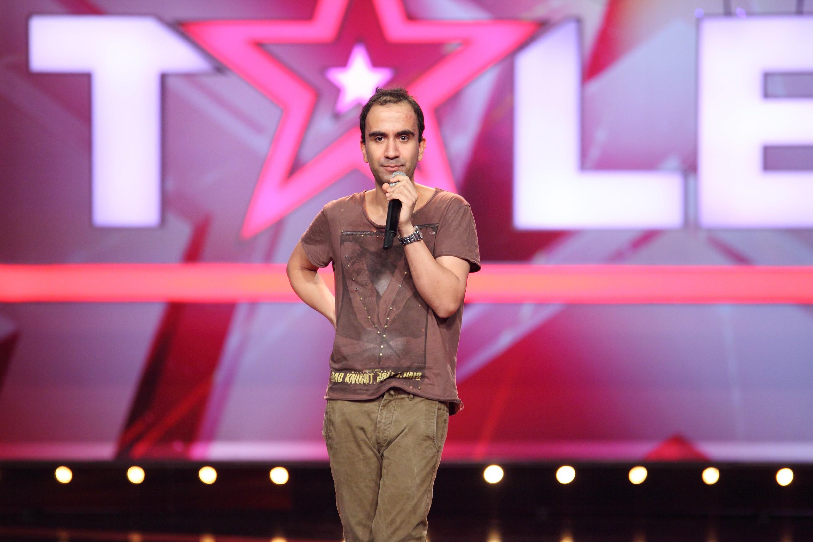 Das Supertalent 2015 Show 5 - Fabian Khajouei aus Bonn