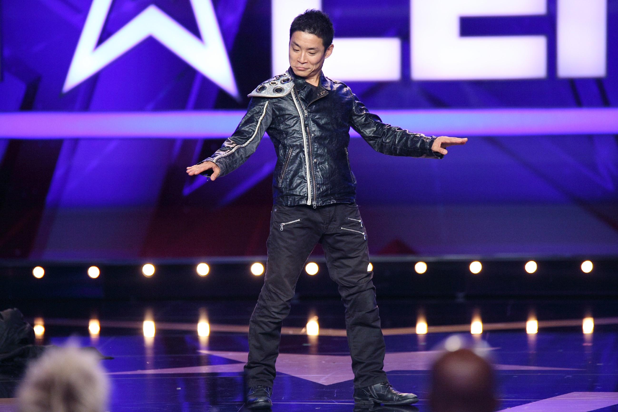 Das Supertalent 2015 Show 5 - Kenichi Ebina aus Tokyo