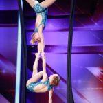 Das Supertalent 2015 Show 7 - Sarah Lindermayer und Antonia Modersohn aus Berlin
