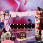Das Supertalent 2015 Show 10 - Nicole und Yvonne Scholich
