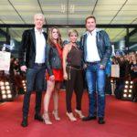 Die Jury: V.l.: HP Baxxter, Vanessa Mai, Michelle und Dieter Bohlen.