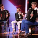 Das Supertalent 2015 Show 13 – Stefan, Nina und Vater Jovica Djordjevic aus Österreich