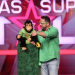 Das Supertalent 2015 Finale - Enzo Lorenzo und Affe Charly aus Idar-Oberstein
