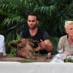 Dschungelduell 1 - David Ortega, Brigitte Nielsen und Jenny Elvers